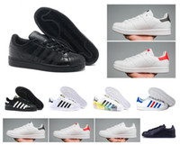 2018 hot stan smith athletic sapatos superstar feminino flat shoes homens mulheres zapatillas deportivas amantes mujer sapatos femininos sapatos 36-44