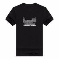 Homens camisetas Homens T-shirt de algodão Design Tshirt Moda personalidade 3d eu visto esta camisa periodicamente juventude manga curta
