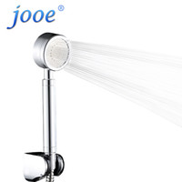 Jooe HandHeld Cabeza de ducha Ahorro de agua Cromo a alta presión Baño de mano redonda Cabezales de ducha Accesorios de baño ducha chuveiro