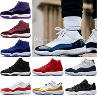 Cheap New 11 Space Jam 45s Bred Gamma Blue men casual shoes ...