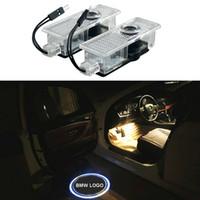 باب السيارة مجاملة ضوء LED ليزر شبح الظل مصباح بروجيكتور لسيارات BMW E65 ، E66 ، E67 ، E68 ، F01 ، F02