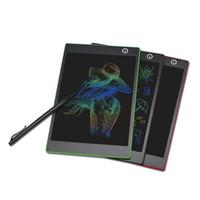 2018 الشحن مجانا المغناطيسي 9.7 بوصة وشاشات الكريستال السائل كتابة متن الكتابة لوحة الكتابة LCD مع القلم قلم الكتابة اللوحية