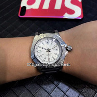 YENI 45mm Challenger Mens Otomatik İzle A1738811 / G791 / 433X Beyaz dial siyah Kauçuk kayış Yüksek kalite ucuz erkek spor saatler