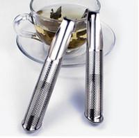 Sıcak satmak Paslanmaz Çelik Boru Tasarım Süzgeç Çay Demlik Dokunmatik Hissediyorum Iyi Tutucu Aracı Çay Kaşığı Demlik Filtre S ...