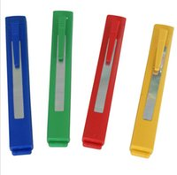 красочные ручки в форме табак ролик сигареты прокатки Наполнитель машина Injector Handmade Для курящего Автомата Snuff нечто сногсшибательное