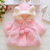 Baby Clothing Infant Kids Fur Winter Warm Coat Jackets Thick...