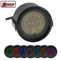 التنين قياس 52 ملليمتر 7 لون الخلفية lcd الرقمية السيارات سيارة العادم الحرارة متر EXT temp gauge meter