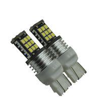 2 pcs T20 W21W W21 / 5W 7440 7443 Lâmpada LED para Backup Reversa Luzes de Sinalização Do Carro Luzes LED 12 V Branco
