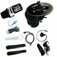 TSDZ2 Midmotor VLCD6 / XH18 / VLCD5 36 / 48V52V 56 / 48V52V 500W / 750W Kit de vélo électrique Tongsheng Tongsheng Capteur de couple 6V lumière de la tête incluse