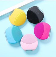 Electric Face Scrubs Silicone USB Rechargeable Sonic Electri...