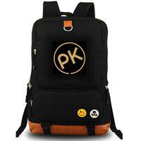 PK ظهره بول Kalkbrenner النفس daypack دي جي الموسيقى المدرسية حقيبة الكمبيوتر البينية حقيبة قماش حقيبة مدرسية في الهواء الطلق حزمة اليوم
