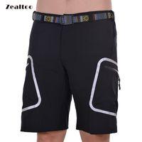 Vêtements pour hommes Sports de plein air Vélo Vêtements Downhill VTT Shorts Pantalon Vélo de montagne Shorts de vélo Porter un pantalon