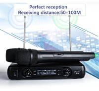 JIY Professional LCD karaoke Wireless Microphone V2 mixer au...