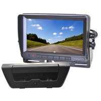 Vardsafe VS150NM | Juego de cámara de reserva inversa para retrovisor trasero para Ford F150 (2015-2017)