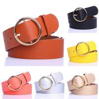 NIBESSER Color sólido Cintura delgada y delgada Cinturón ajustable Nuevas mujeres  Cinturones de cuero de imitación f05a84704f42