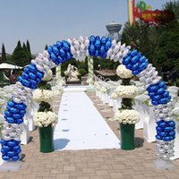 Wholesale wedding arch frame buy cheap wedding arch frame in bulk wedding balloon arches shelf backets kit portable opening frame balloon stand base set birthday party decoration junglespirit Choice Image