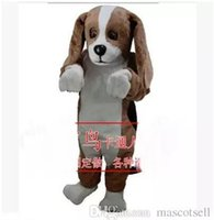 2018 High quality beagle mascot costume adult size factory c...