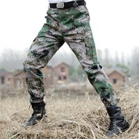 Military Cargo Pant Army Camouflage Tactical Pants SWAT Hunt...
