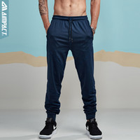 Aimpact 2018 New Spring Causal Pants Hombre Otoño Joggers ligeros Slim Fitted Active Sweatpants City Pantalones diarios Hombre AM5008