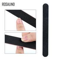 ROSALIND Nail File 10Pcs Set Black Nail Art Full Professiona...