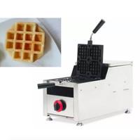 Machine à gâteaux de gaufres de grille de gaz commercial machine de gaufre de gaufres de gaz machine facile à utiliser des gaufres de gaufre