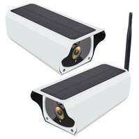 2MP 1080P WiFi 태양 전원 IP 네트워크 CCTV 보안 카메라 64GB TF 카드 H.264 IP 카메라