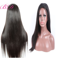 BD Brazilian Human Hair Full Lace Wigs With Silky Straight G...