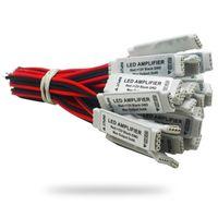 DC12V Mini RGB LED Amplifikatör Denetleyicisi SMD 3528 5050 LED Şerit Aydınlatma için Ortak Anot 3Channel