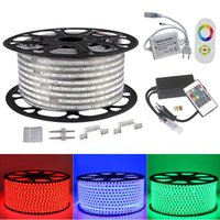 5050 RGB Led strip light 110V 220V 60led M IP65 Waterproof l...