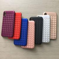 Para samsung galaxy j7 pro design trançado phone case pintura spray tpu luxo striae imitação phone case para iphone x case celular case