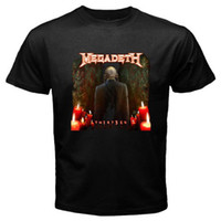 New MEGADETH 13 Thirteen Rock Band Men' s Black T- Shirt ...