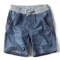 Fashion New Children' s Clothing Boys Washed Denim Shorts...