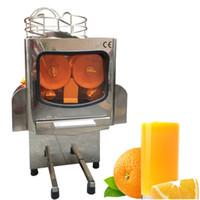 Продукты для пищевой промышленности Коммерческая Авто Оранжевый соковыжималки соковыжимающиеся машины 2000E-5 Электрический индустриальный экстрактор из нержавеющей стали