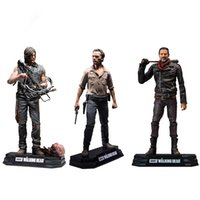 The Walking Dead Negan Rick Grimes Daryl Dixon Pvc Action Fi...