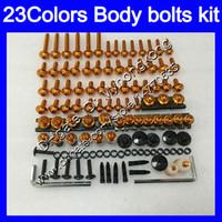 Carenagem parafusos kit parafuso completo para Suzuki GSX1250C GSX1250 C GSXC1250 11 12 13 2011 2012 2013 1250 GSXC porcas do corpo parafusos de porca de parafuso 25Colors kit