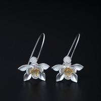 New arrival 925 Sterling Silver Earring fashion Ancient lite...