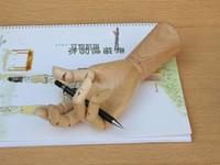 عالية المستوى الحرف اللوحة المشتركة خشبية ناحية نموذج الرسوم مشتركة خشبية ناحية ل pinceis رسم نموذج رسم المعرضة الفن