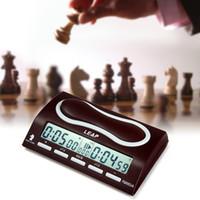 LEAP PQ9903A Multifuctional Horloge Numérique D'échecs Wei Chi Compte Jusqu'à Down Minuterie D'alarme D'échecs Reloj Ajedrez Temporisateur De Jeu Temporizador