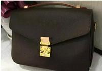 الشحن مجانا جودة عالية جلد طبيعي المرأة حقيبة يد pochette Metis حقائب الكتف crossbody أكياس رسول bagM40780.