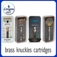 Brass Knuckles Pyrex Glass Cartridges with Box Packaging MT6...