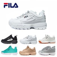 8763d93d093d 2018 New Original running shoes white Sand grey Gold II 2 S Women men FILE  special section Hiking Jogging Casual sports sneakers