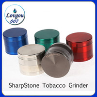 40mm 50mm 55mm 63mm 4 parts SharpStone Tobacco Grinder herb ...