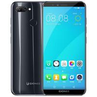 الأصل جيوني F6 4G LTE موبايل تليفون 3GB RAM 32GB ROM أنف العجل 8937 الثماني الأساسية 5.7 بوصة وشاشة الهاتف الخليوي الكاملة 13MP بصمة ID الذكية