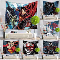 Marvel Film Super Heroes Tapestries Beach Tapestry Hippie Throw Yoga Mat Asciugamano in poliestere Scialle da bagno Asciugamano per la decorazione domestica Supplise