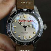 3 Stil En Iyi Watche Divers Altmış Beş ETA2824 Otomatik Erkek İzle 01 733 7720 4051-07 5 21 02 Gümüş Kadran Kahverengi Deri Kayış Gents Saatler