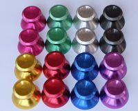 3D Caps Aluminium Aluminium Metal Rocker Thumbsk Cap Joystick Caps Caps для PS5 PS4 Xbox One Controller 100 шт. / Лот