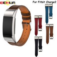 Genuine Leather Strap for Fitbit Charge2 Smart Wristband Bra...