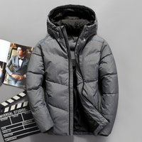 VSD 2019 Winter Mens Fashion White Duck Down Jacket Casual D...
