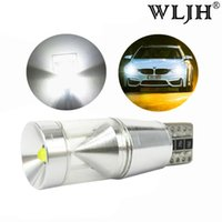 WLJH Canbus 500lm 9W Led T10 W5W Parking Lights Sidelight Fo...