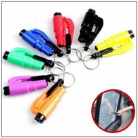 3 in 1 Emergency Mini Safety Hammer Auto Car Window Glass Br...